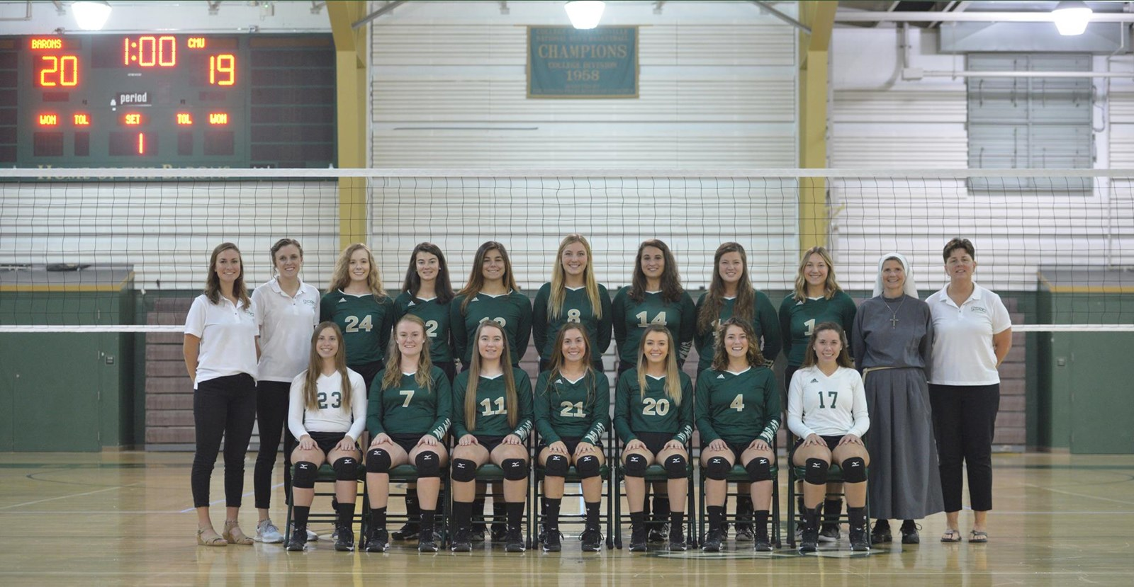 2019 Women S Volleyball Roster Franciscan University Of Steubenville